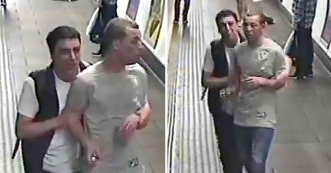Police still want to speak to these men about the fight