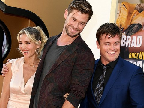 Chris Hemsworth and Elsa Pataky double date with his brother Luke at Once Upon a Time In Hollywood premiere