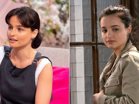 Coronation Street's Ruxandra Porojnicu relates to Alina Pop's tragic twist after arriving in the UK with no money