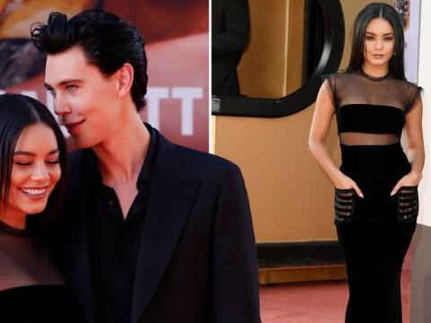 Vanessa Hudgens slays the red carpet as she poses proudly alongside her man Austin Butler