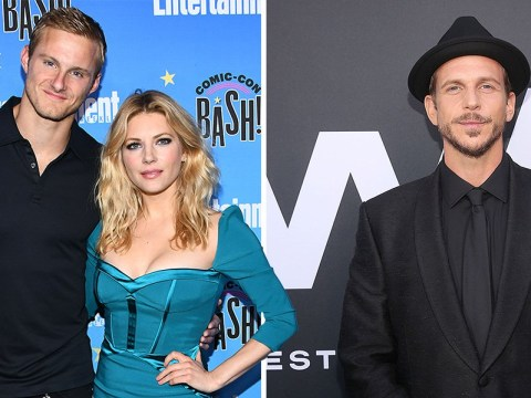 Vikings star Gustaf Skarsgård pines over Alexander Ludwig and Katheryn Winnick: 'Miss you'