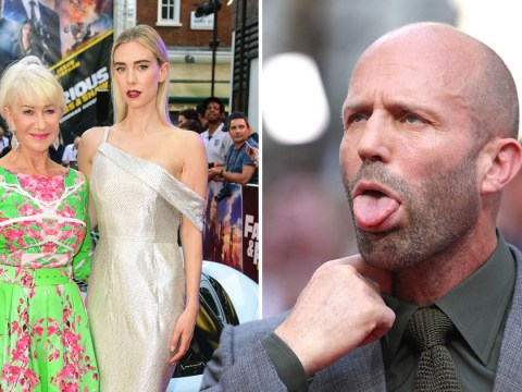 Jason Statham battles the heatwave as he leads Hobbs and Shaw stars at UK premiere