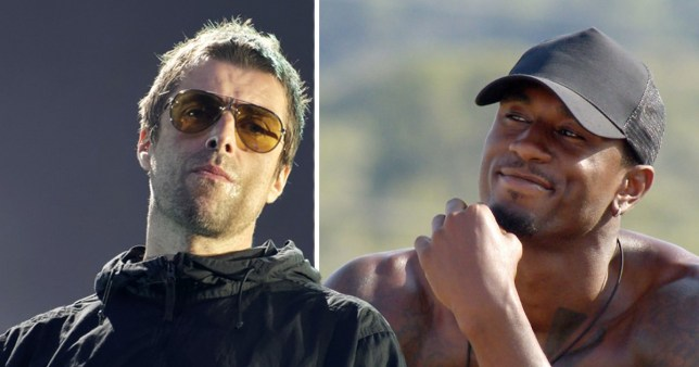 Liam Gallagher and Ovie Soko