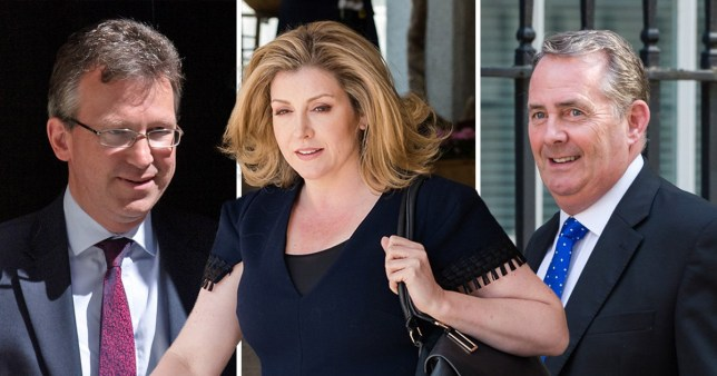 Penny Mordaunt, Liam Fox and Greg Clark have all left government