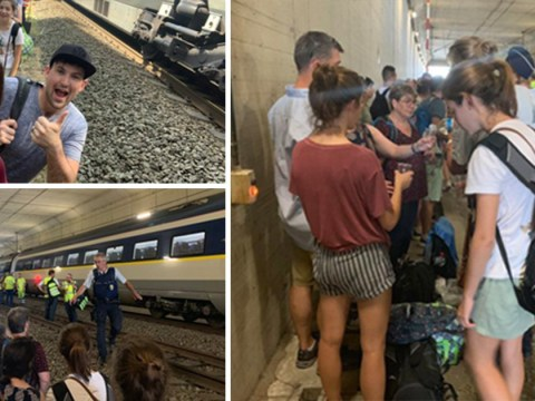 Eurostar passengers trapped on 45°C train for hours due to power supply issue