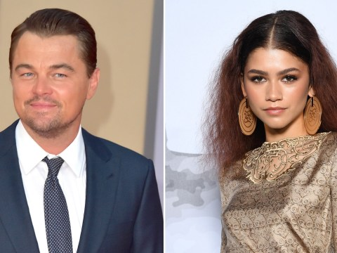 Zendaya's show Euphoria just got Leonardo DiCaprio's seal of approval and she's thrilled
