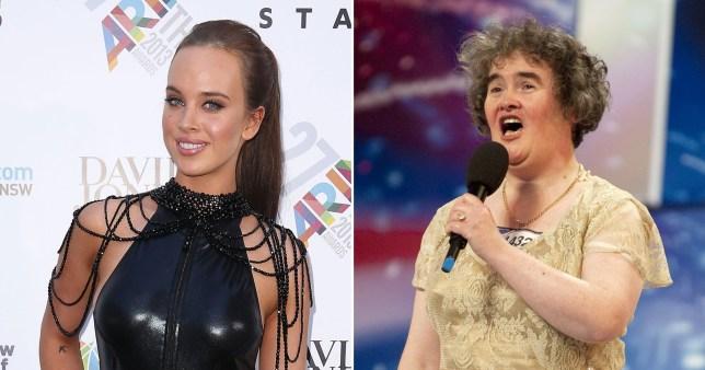 Neighbors star and Susan Boyle