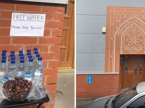 Mosque unites community offering locals free water and fruit amid heatwave