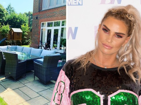 Katie Price tries to blag free garden furniture from ex-husband Peter Andre and succeeds