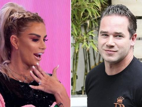 Katie Price's ex Kieran Hayler congratulates her on engagement to Kris Boyson – despite still being married to her