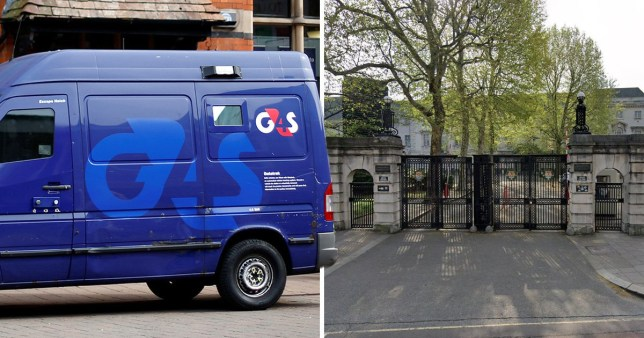 Instead of delivering cash in Holborn, Joel March ditched the van and fled with the cash (Picture: Reuters/Google)