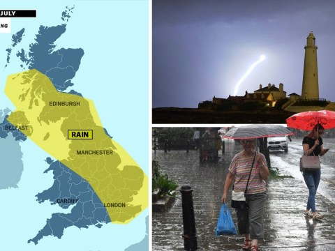 UK set for weekend washout with thunderstorms and showers after heatwave