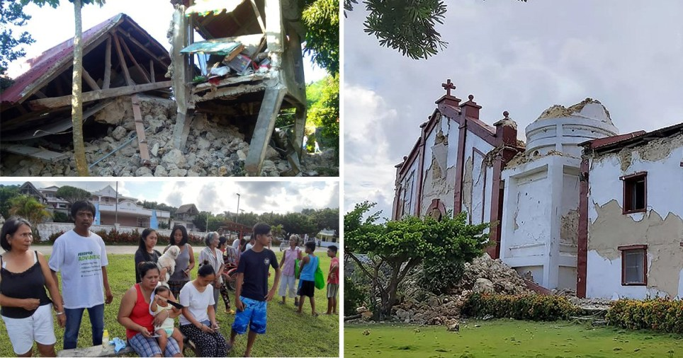 At least eight have been left dead by the earthquake in the Philippines
