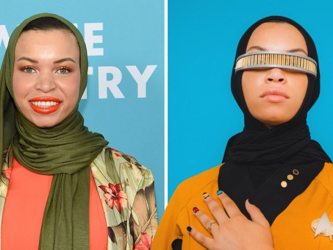 Blair Imani weighs in on hijab debate as she dons 'best ever' Star Trek cosplay