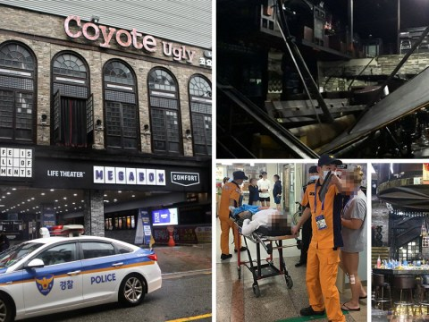 Two dead and 17 injured as balcony collapses at nightclub