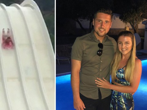 British tourist paralysed after Spanish waterslide accident returns to UK