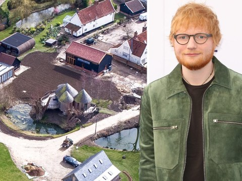 Ed Sheeran 'shells out £4 million to buy out neighbours to stop their moaning' because he can