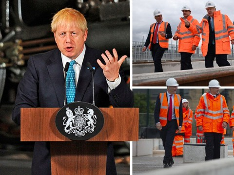 Boris Johnson announces £3,000,000,000 funding boost for forgotten Northern towns