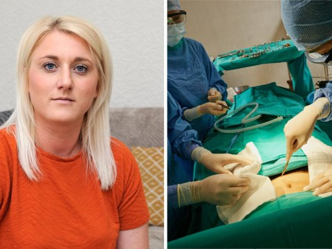 Mum, 30, sues cosmetic surgery firm after tummy tuck gave her flesh eating disease