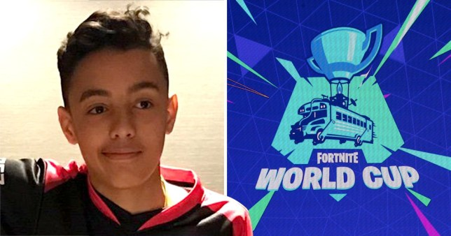 Forty million people had applied to take part in the first Fortnite World Cu (Picture: @WolfiezGG/Twitter, AFP)