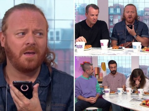 Keith Lemon hilariously answers phone call from Paddy McGuinness during Sunday Brunch: 'Don't swear'