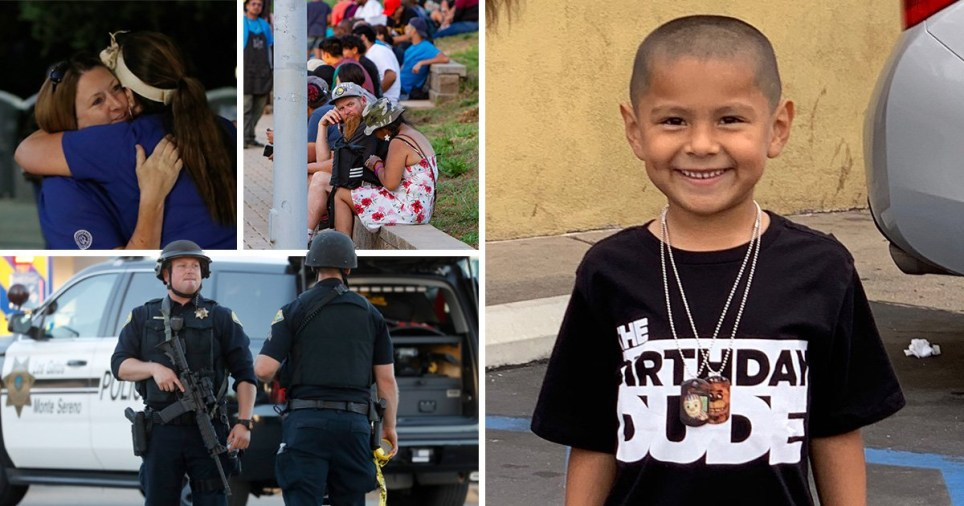 Boy, 6, among four dead after gunman opens fire during garlic festival