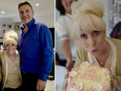 Barbara Windsor smiles for the camera as she celebrates 82nd birthday with David Walliams amid dementia struggle