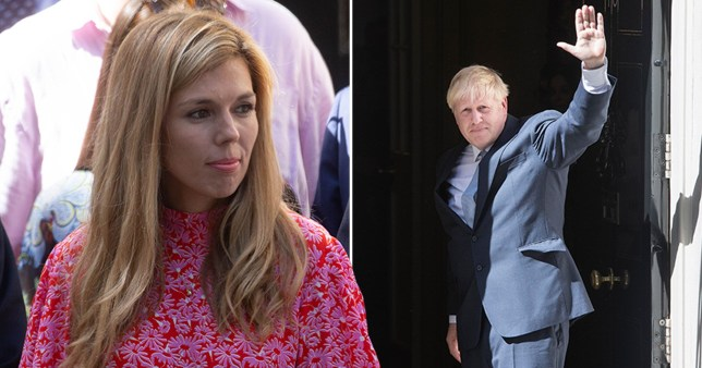 Boris Johnson Moves Into Downing Street With Girlfriend Carrie