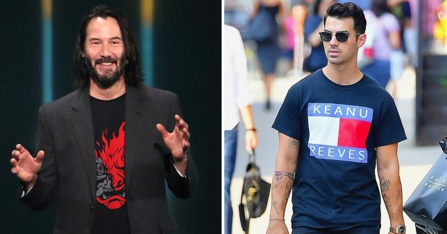 keanu reeves and joe jonas