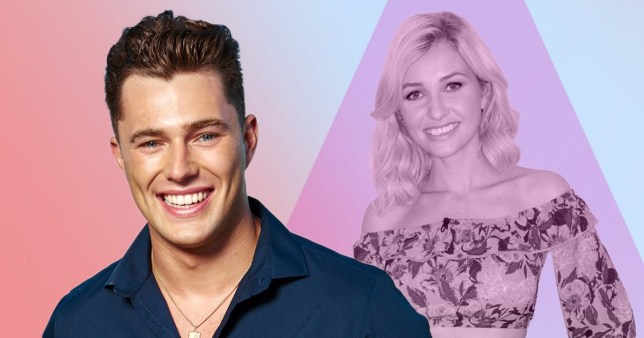 Love Island's Curtis Pritchard and Amy Hart
