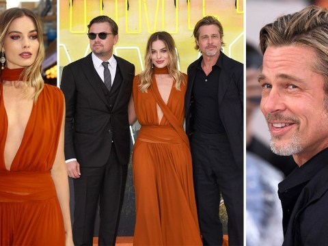 Leonardo DiCaprio and Brad Pitt reignite their bromance at Once Upon A Time In Hollywood premiere in London