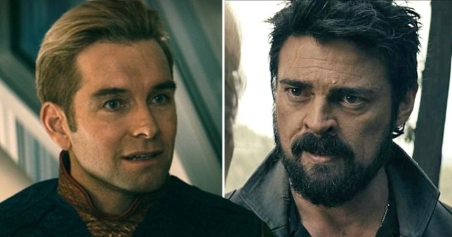 The Boys rivals Homelander and Billy