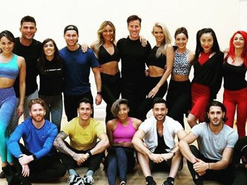 Strictly Come Dancing professionals reunite ahead of first celebrity announcement