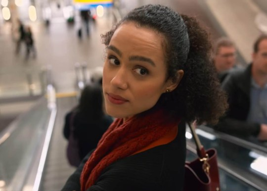 Nathalie Emmanuel as Maya in Four Weddings