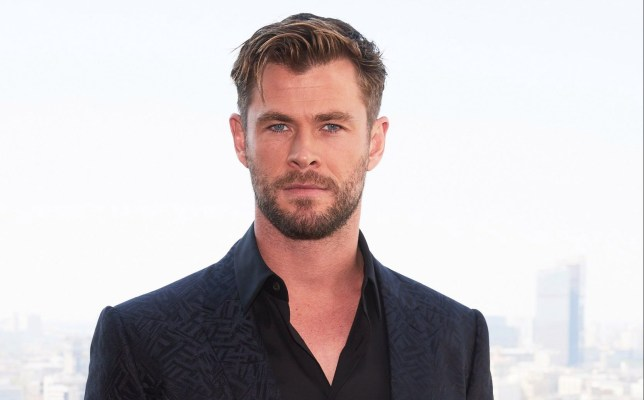 """MOSCOW, RUSSIA - JUNE 06: Actor Chris Hemsworth attends the """"Men in black International"""" photocall at Kalina bar on June 6, 2019 in Moscow, Russia. (Photo by Oleg Nikishin/Getty Images)"""