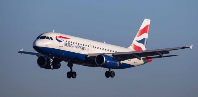British Airways Airbus A320-200 with registration G-EUUO landing at Luxembourg Findel International Airport LUX ELLX in the blue sky. BA connects Luxembourg city to London Heathrow International Airport LHR EGLL in England, UK. BritishAirways is part of Oneworld Aviation Alliance. (Photo by Nicolas Economou/NurPhoto via Getty Images)