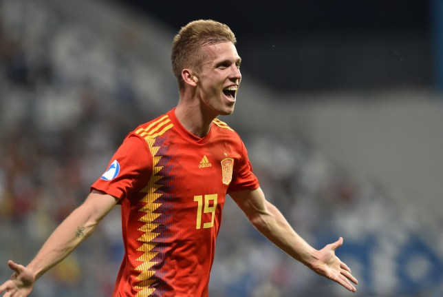 Spain Under-21s star Dani Olmo is on Manchester United's summer shortlist