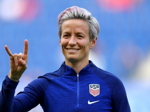 Megan Rapinoe defends Alex Morgan over tea-drinking celebration during USA's win over England