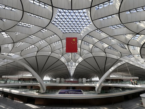 Bejing's £9 billion airport looks set to give Heathrow a run for its money