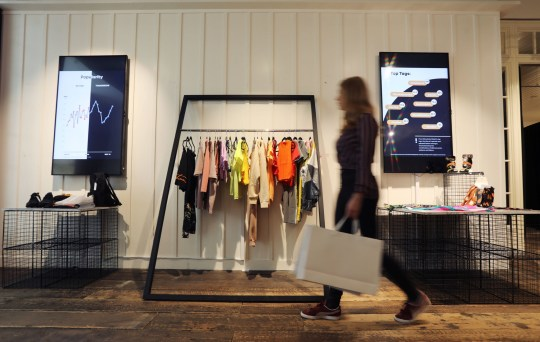 Trending Store is AI-powered and sells things popular on social