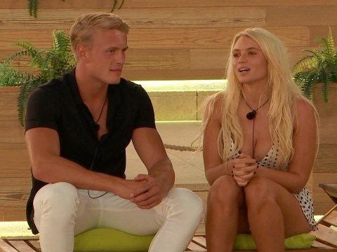 Love Island's Dennon Lewis reveals Lucie Donlan is being used by George Rains because he 'ran out of options' to stay in the villa
