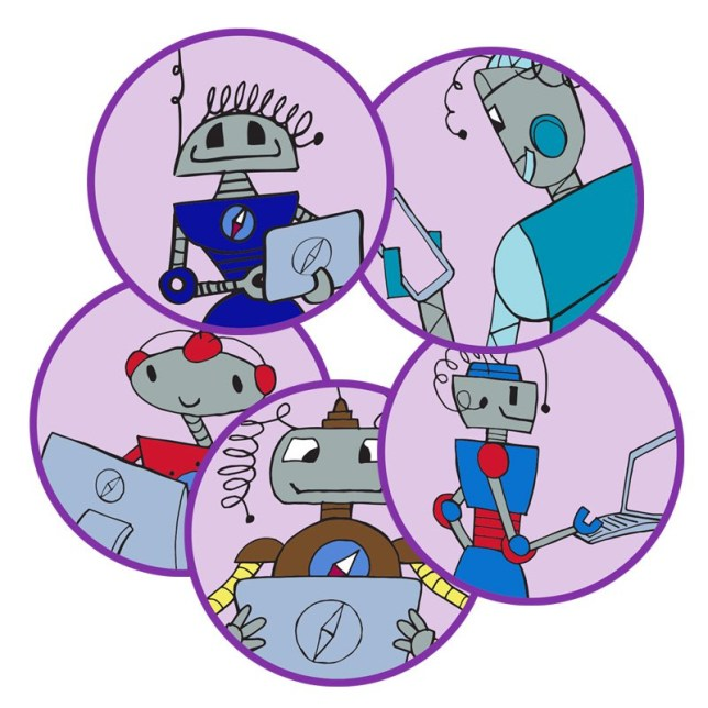 Embargoed to 0001 Wednesday July 03 Undated handout image issued by the National Cyber Security Centre of the new badges that can be earned by Girlguides in South West England by completing activities in cyber skills and demonstrating awareness of safety online. PRESS ASSOCIATION Photo. Issue date: Wednesday July 3, 2019. Covering all ages within Guiding, from Rainbows to Rangers, girls can complete an activity pack devised in partnership with the National Cyber Security Centre (NCSC) to show they understand how the internet works and how devices talk to one another. See PA story TECHNOLOGY Girlguides. Photo credit should read: NCSC/PA Wire NOTE TO EDITORS: This handout photo may only be used in for editorial reporting purposes for the contemporaneous illustration of events, things or the people in the image or facts mentioned in the caption. Reuse of the picture may require further permission from the copyright holder.