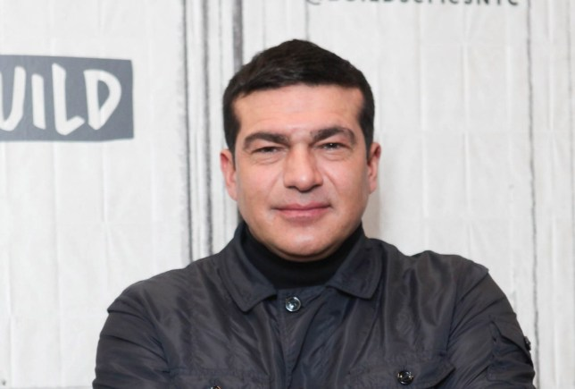 Actor Tamer Hassan at Build Series New York