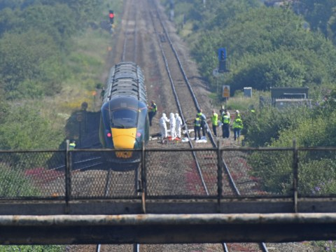 Rail workers killed by train didn't hear it because of their ear defenders