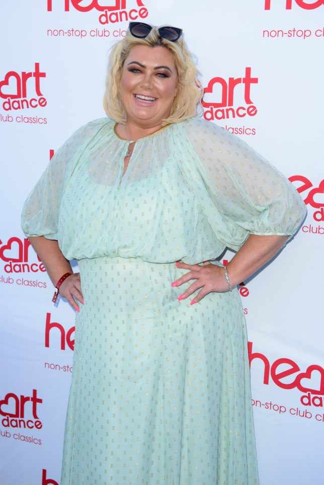 LONDON, ENGLAND - JULY 03: Gemma Collins attends the Heart Dance Media launch event at Global Radio Studios on July 03, 2019 in London, England. (Photo by Joe Maher/Getty Images)