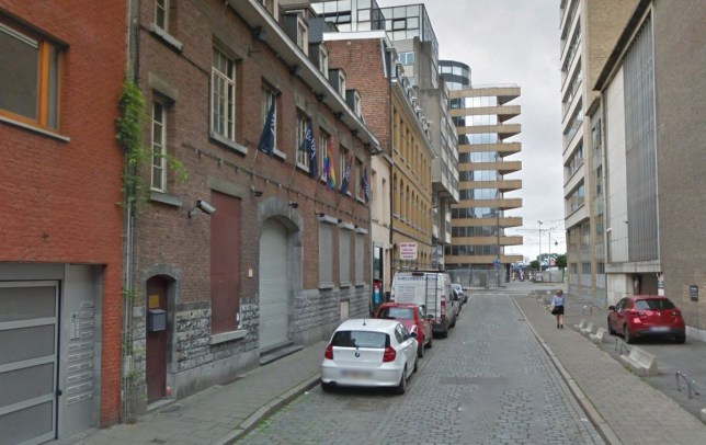 A transgender teen has told cops she was gang-raped by three men on her first night out as a female. Pictured: Red & Blue gay club in Antwerp