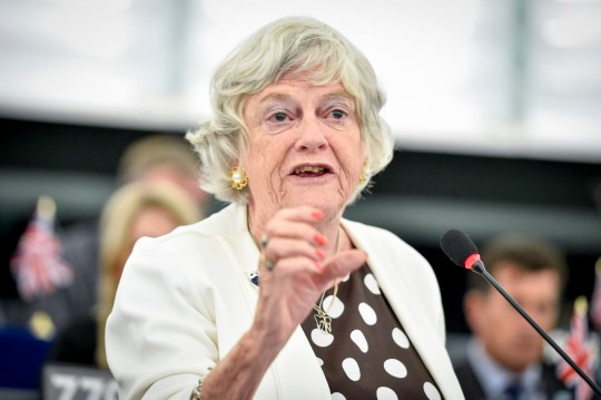 Brexit Party MEP Ann Widdecombe