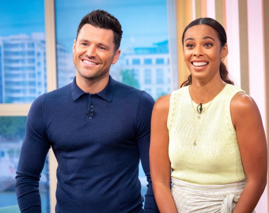 Mark Wright Reveals Michelle Keegan Once Fell Through A