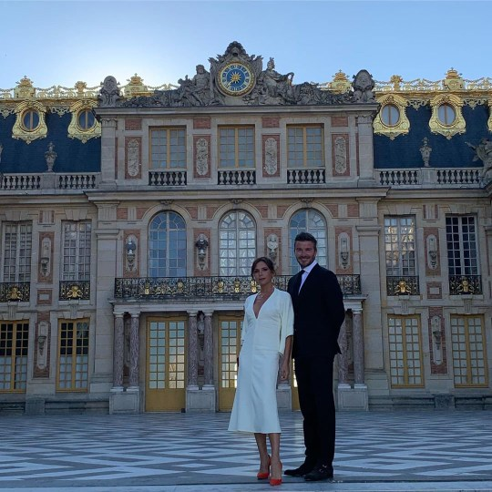 Victoria and David Beckham celebrate 20th wedding anniversary with private tour of Versailles
