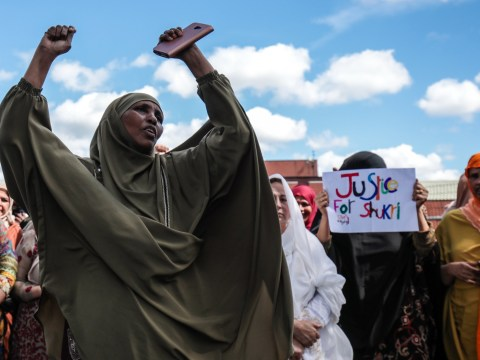 Protesters demand justice for 'bullied' refugee Shukri Yahya Abdi who drowned in river